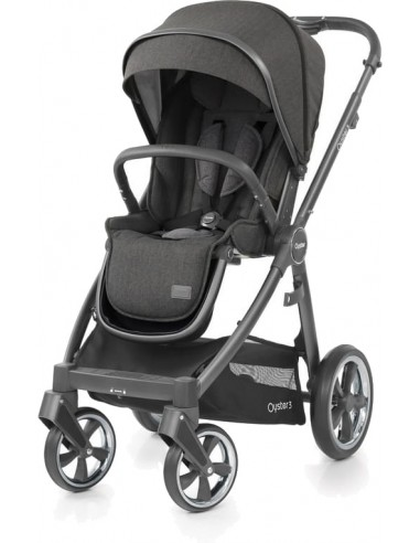 BabyStyle Oyster 3 Pepper Grey